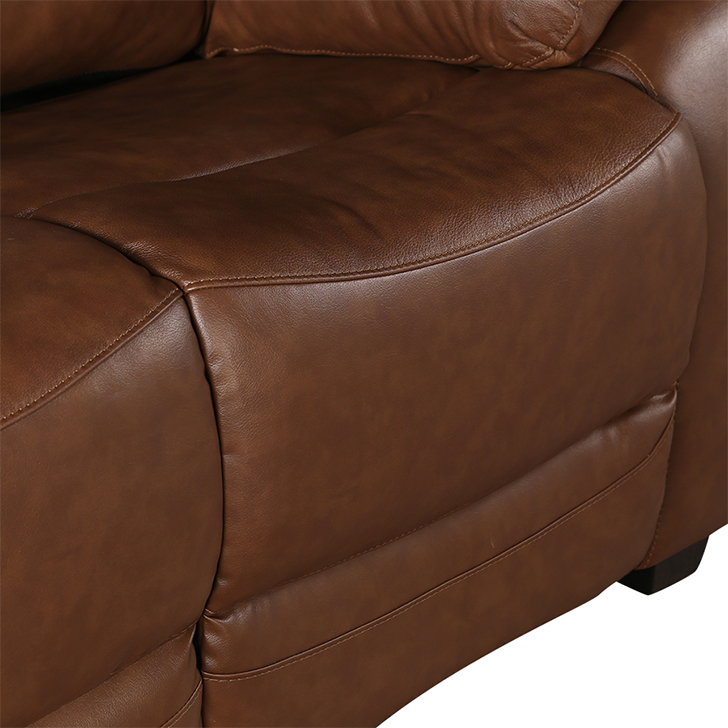 Lopez Half Leather Two Seater Sofa,Living Room Furniture