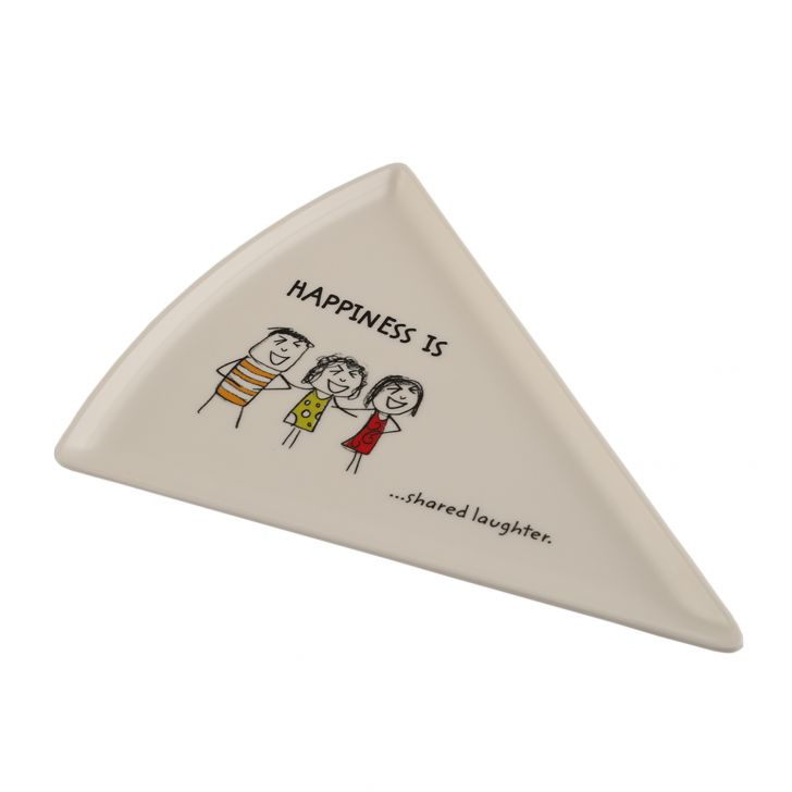 Happiness Pizza Plate - Mod,Plates