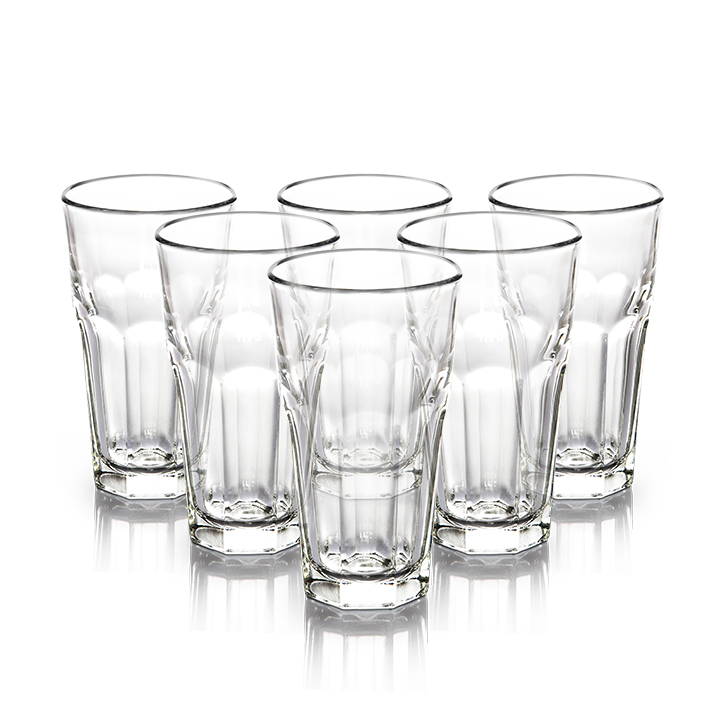 Libbey Dover Water Tumbler 355 ml 6 Pcs,Glasses & Tumblers