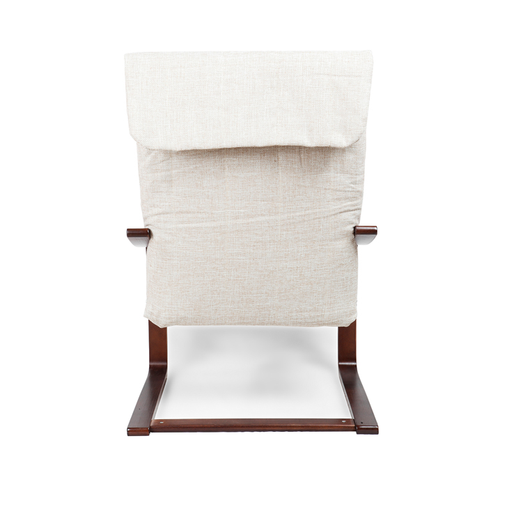 buy nero relaxing arm chair in beige colour online in india