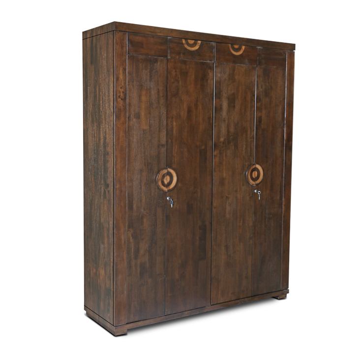 Enrique Four Door Wardrobe Wenge,4 Door Wardrobes
