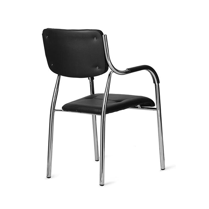Swan Stackable Visitor Chair Black,Office Chairs