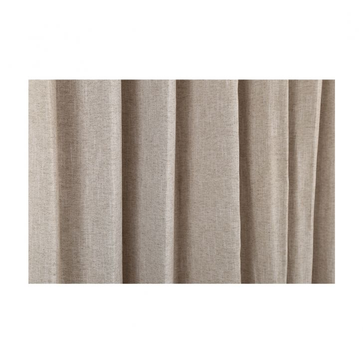 Amour Window Curtain Beige Set of 2,Window Curtains