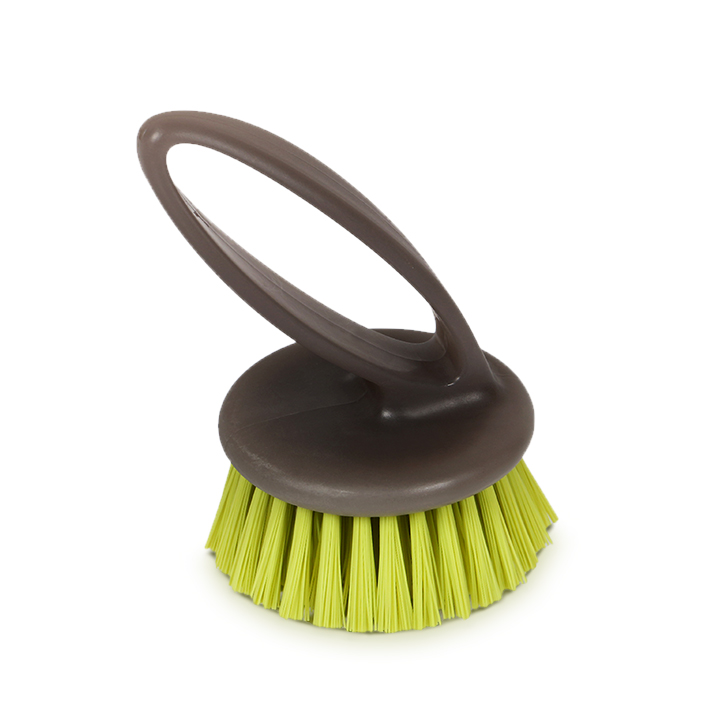 Casabella Clean Compact Scrubber Brown,Cleaning