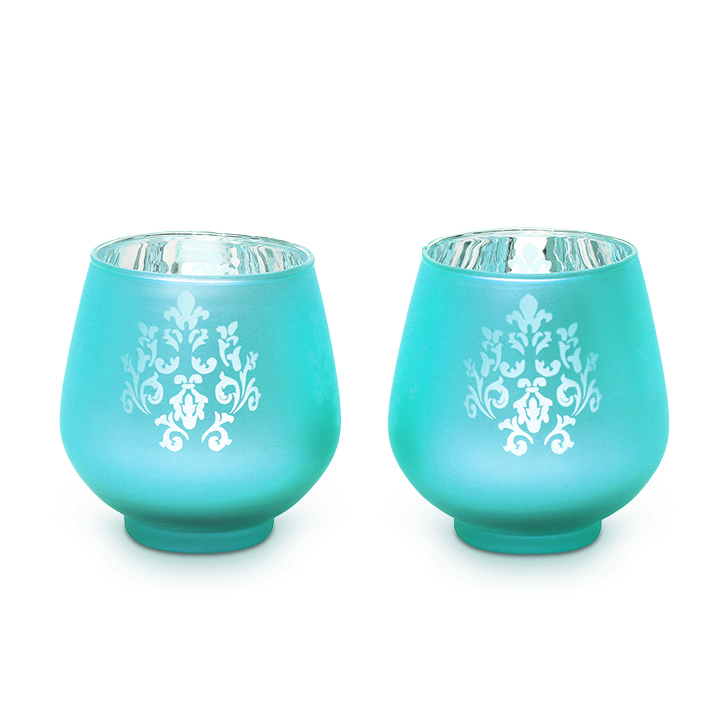 HomeTown Zahara Glass Candle Holder Assorted,Candle Holders