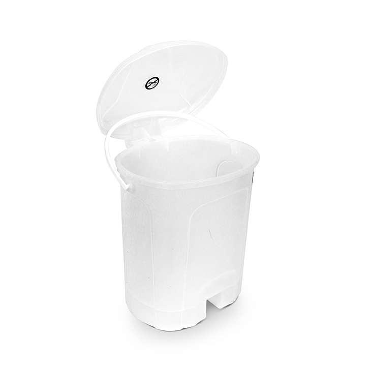 Living Essence Perry Pedal Plastic Dustbin,Dustbins