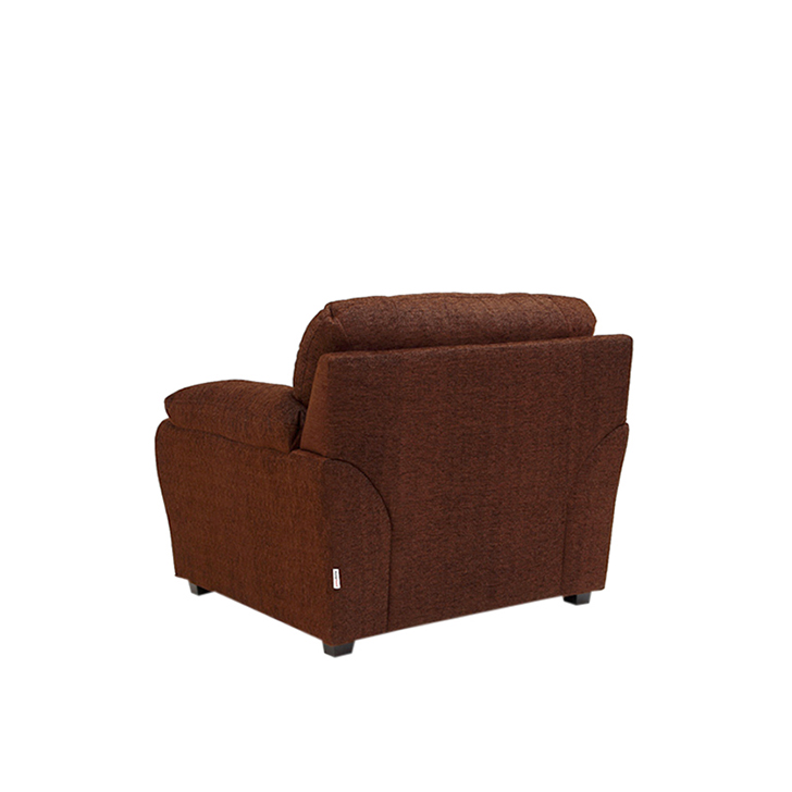 Ohio Single Seater Sofa Brown,Clearance Sale