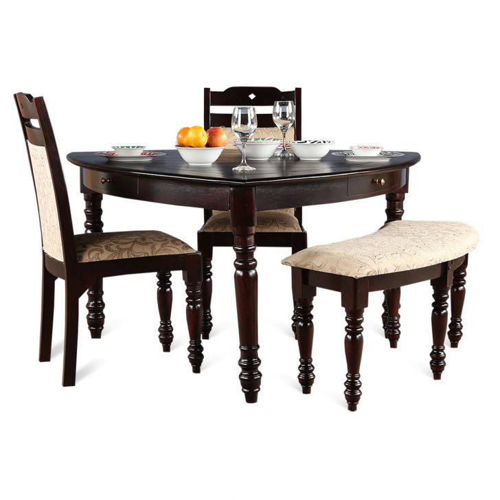 Baylor Six Seater Dining Set Dark Espresso,Dining Room Furniture