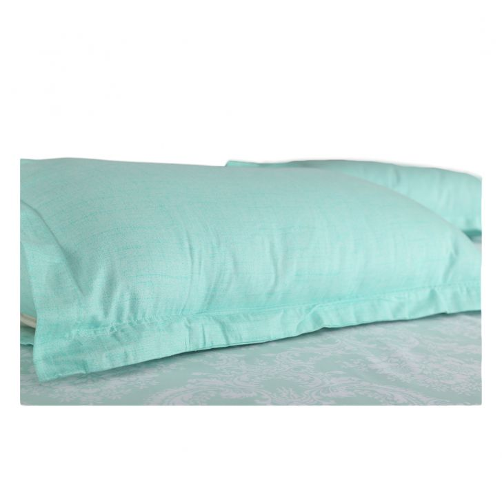 Amour Double Bed Sheet Set Mint,Double Bed Sheets