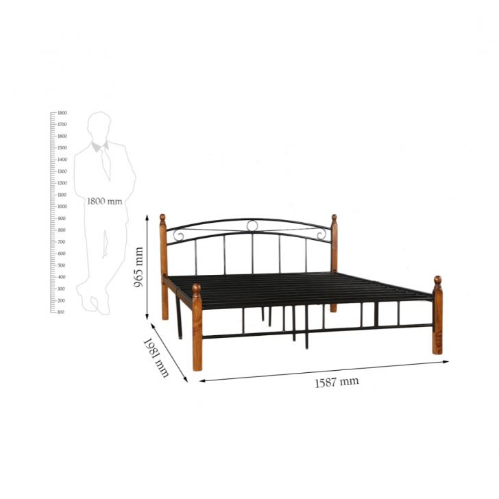 Berlin Queen Bed,Mega Independence Day Sale