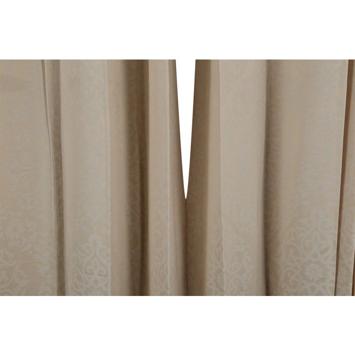 Florina Extra Large Curtain Off White,Curtains