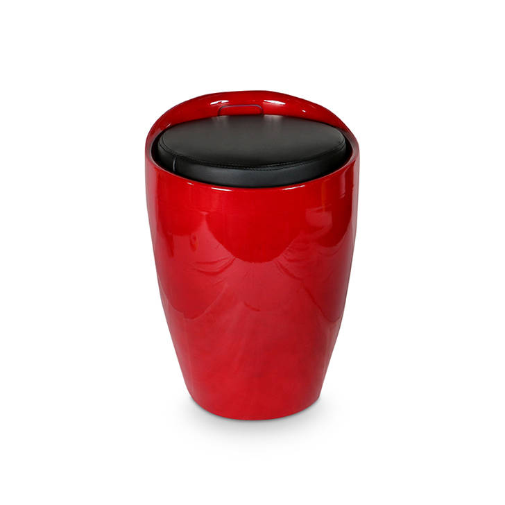 Luna Stool in Red Colour,Stools