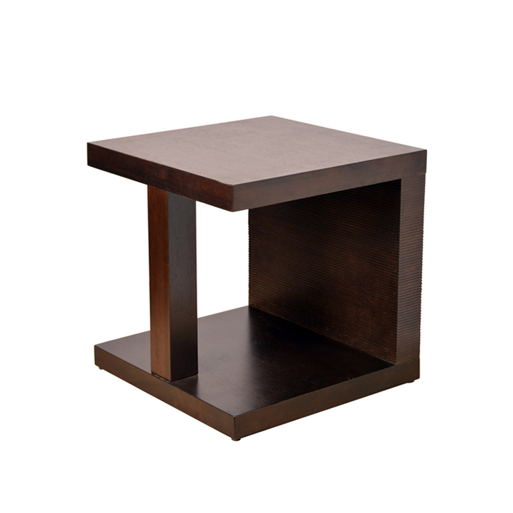 Prestige Side Table in Brown Finish,Coffee Tables