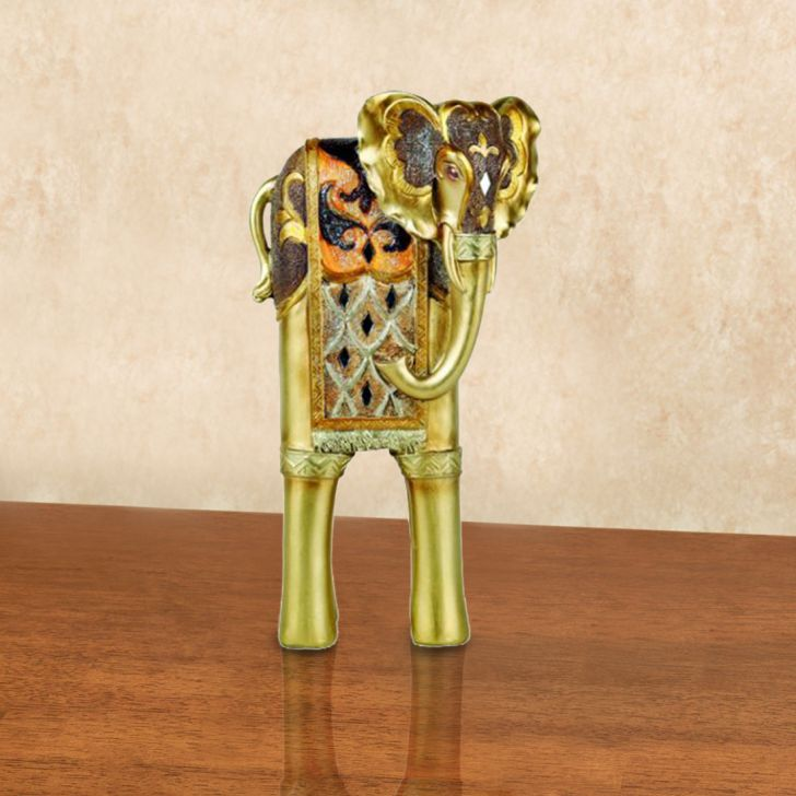 Embellished elephant figurine,Artifacts