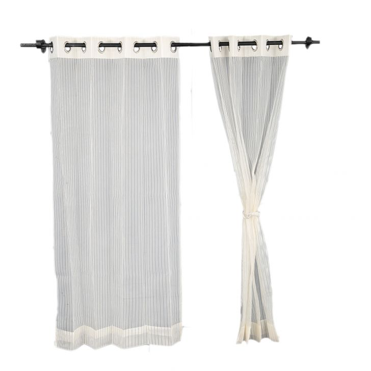 Sheer Door Curtain SIA Off white,Curtains