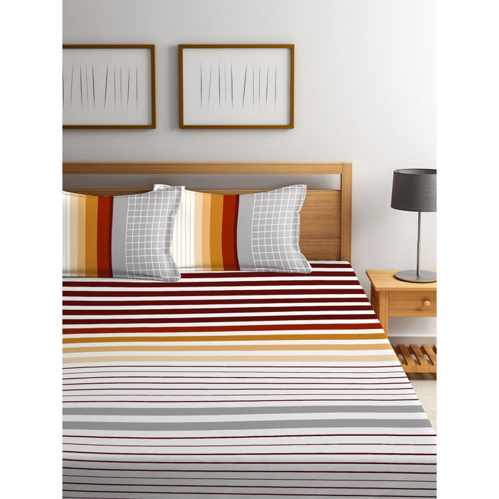 King Bedsheet French Gold Desert Safari,King Size Bed Sheets