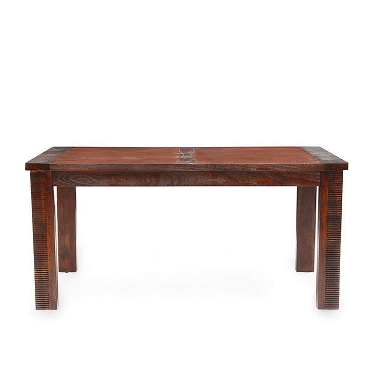Venus Solidwood 6 Seater - Bench Dining,6 Seater Dining Sets
