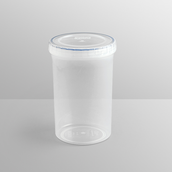 Lock & Lock Round Long Twist Container 760 Ml,Containers