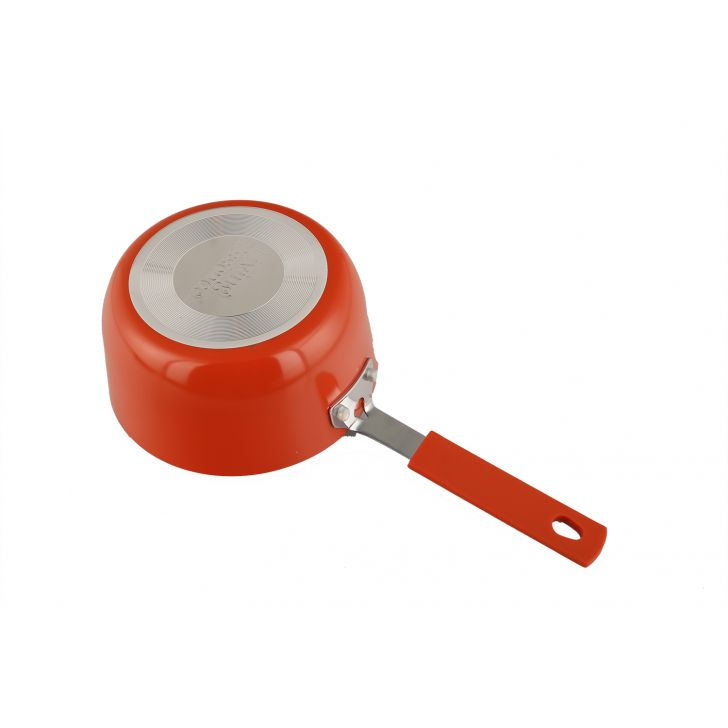 Mini Sauce Pan 14Cm Orange,Kitchenware
