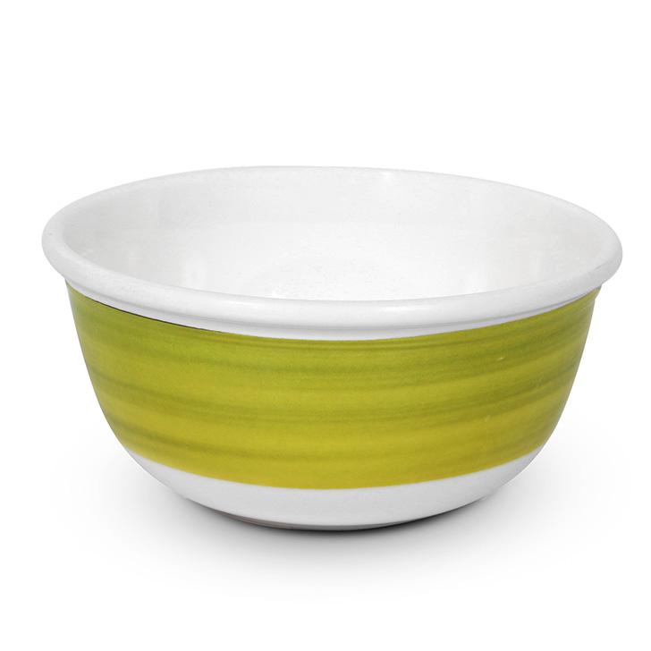 Living Essence Melamine Veg Bowl Citron,Plates