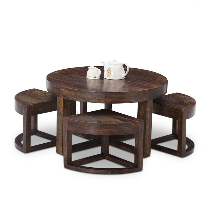Harrington Coffee Table Set Walnut,HT Exclusive