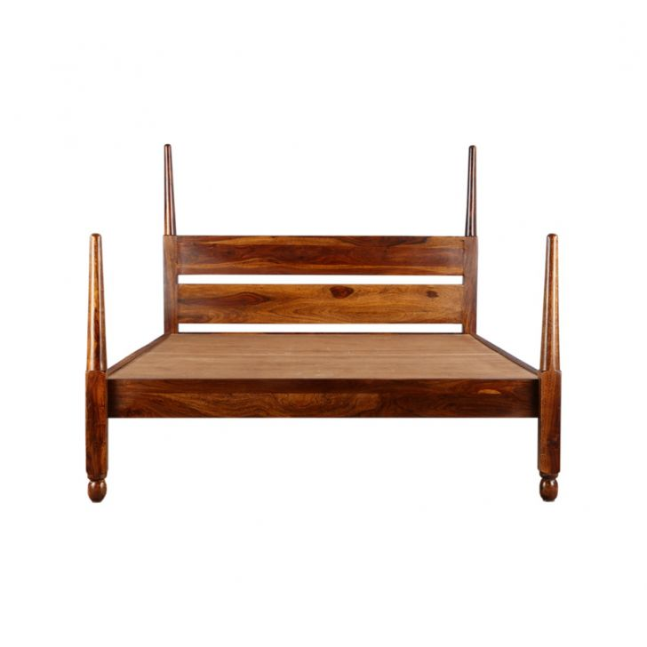Olman Queen Poster Bed,Mega Independence Day Sale
