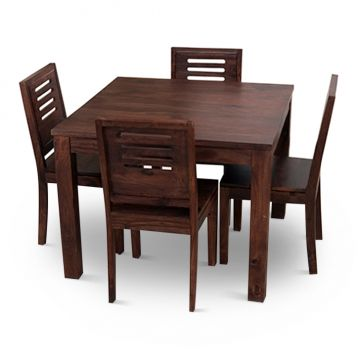 4 seater dining sets buy 4 seater dining sets online in for New model wooden dining table