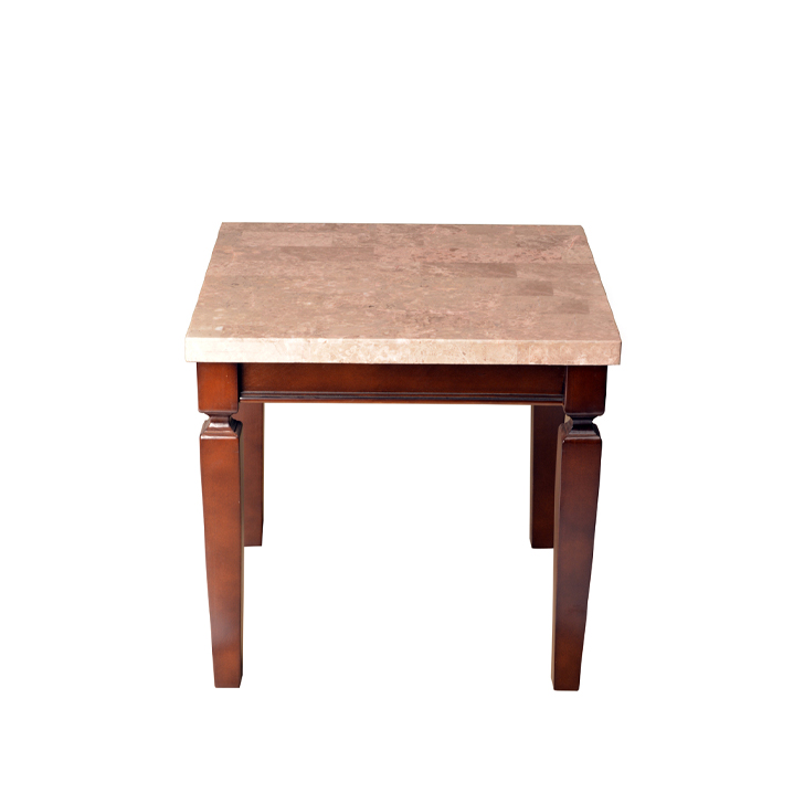 Bliss Solid Wood Side Table with marble top,Side Tables