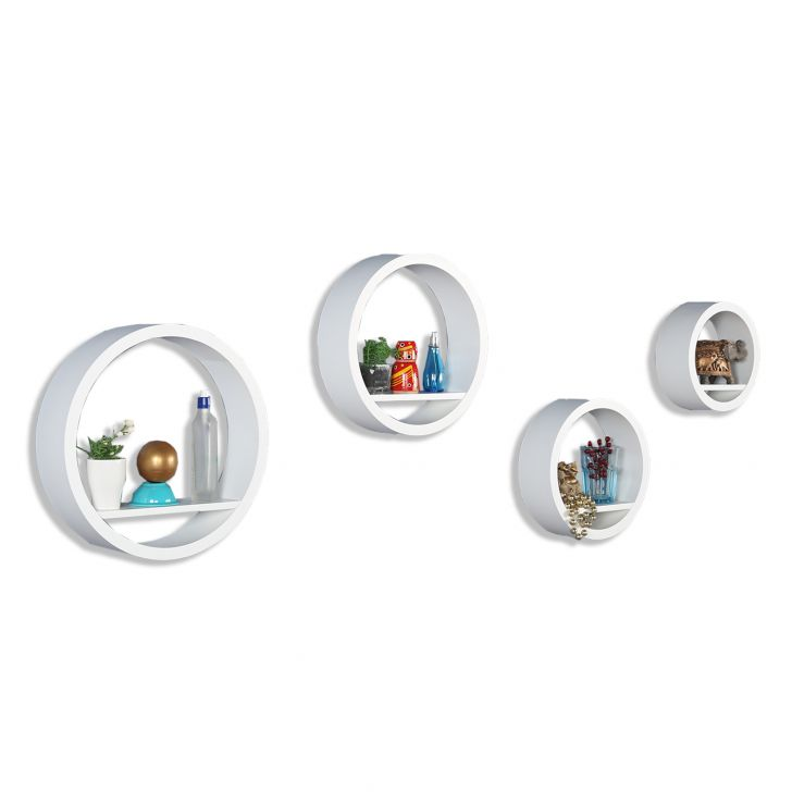 Hoop Wall Shelve White,Bookshelves & Display Units