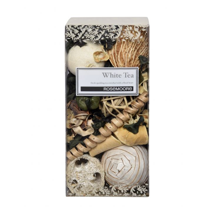 Rosemoore White Driftwood Scented Reed Diffuser For Living Room, Washroom, Bedroom, Office - 200 ML With 10 Reed Sticks,Reed Diffusers