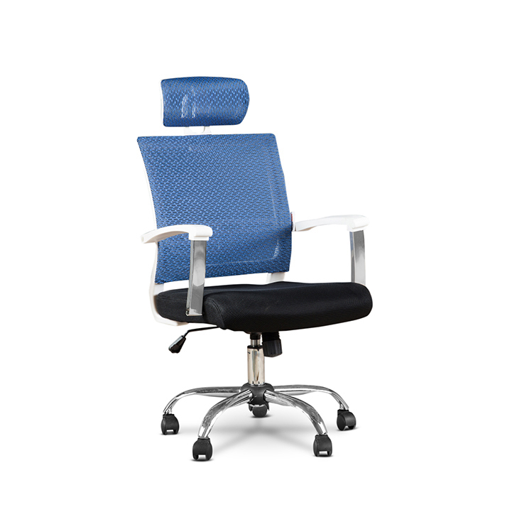 Titus High Back Office Chair Blue,Office Chairs