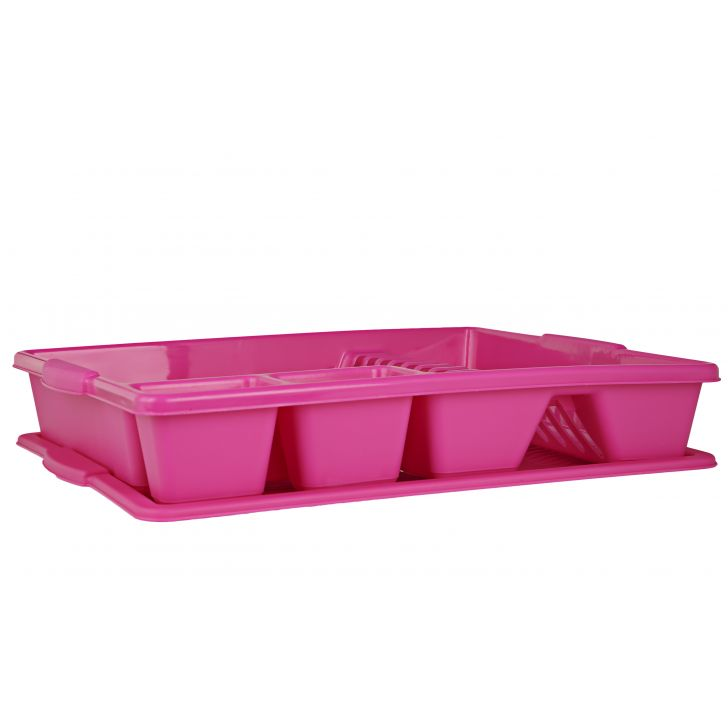 Dish Drainer Pink,Containers