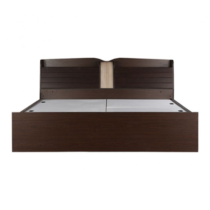 Magnum King Bed with Drawer Storage in Vermount Finish,Beds with Drawers