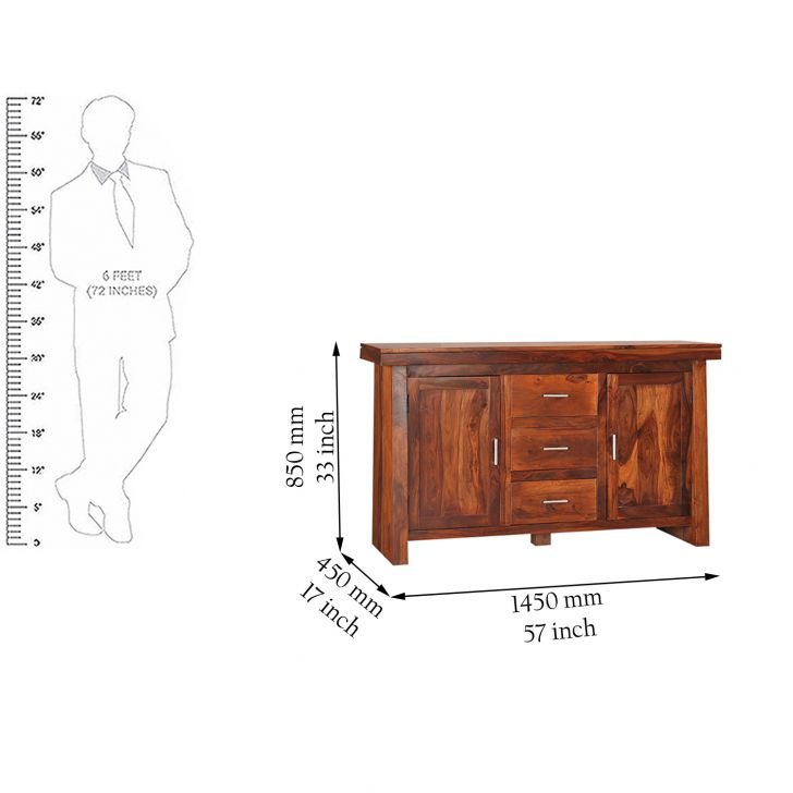 Austin Solidwood Sideboard,Dining Room Furniture