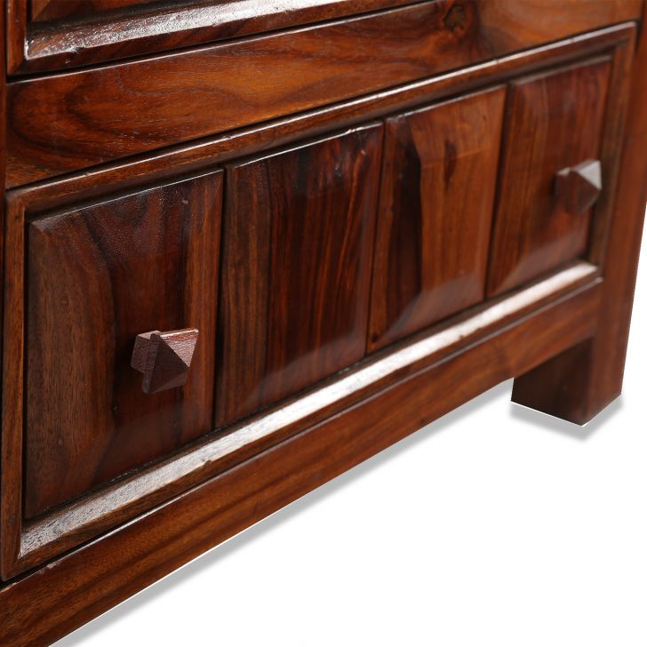 Woodrow Solidwood Chest Of 5 Drawer,Kitchen Cabinets