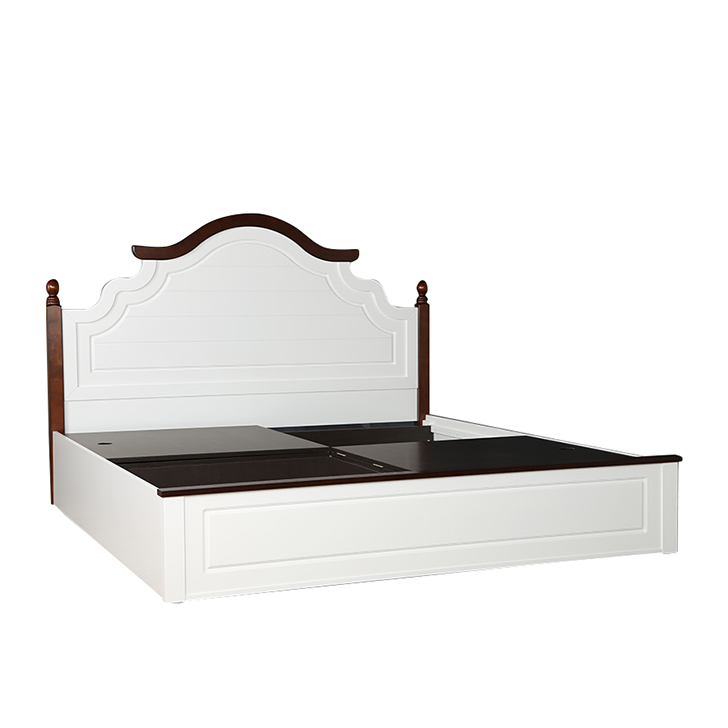 Margery King Bed With Box Storage,King Size Beds