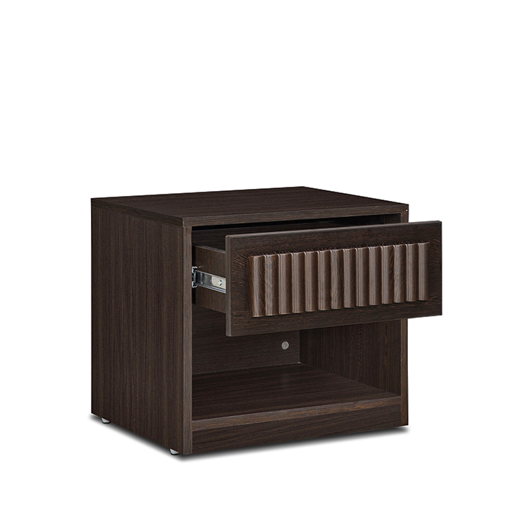 Tiago Night Stand in Wenge Colour,Bedside Tables