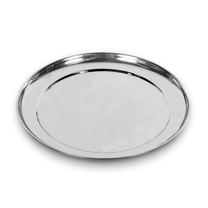 Living Essence Rajbhog Plate Dia 10 inches,Tableware