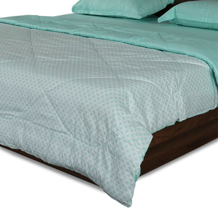Amour Double Comforter Mint,Comforters