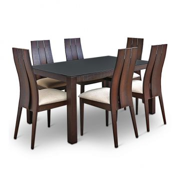 Hometown 6 seater dining sets buy hometown 6 seater for Dining table set 4 seater