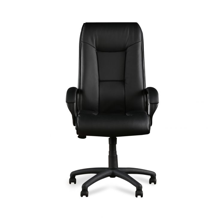 Garos Hb Black Leatherette Chair,Office Chairs